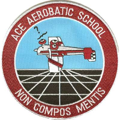 ACE Aerobatic School Patch