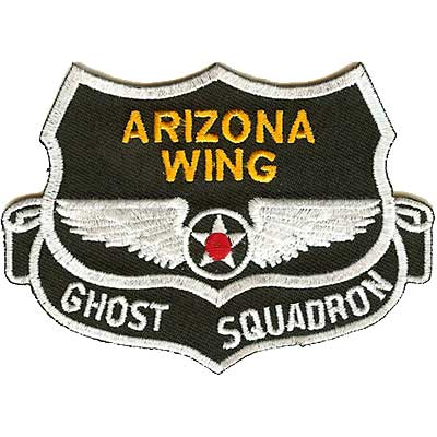 Arizona Wing Ghost Squadron Patch