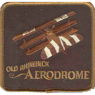 Old Rhinebeck Aerodrome Patch