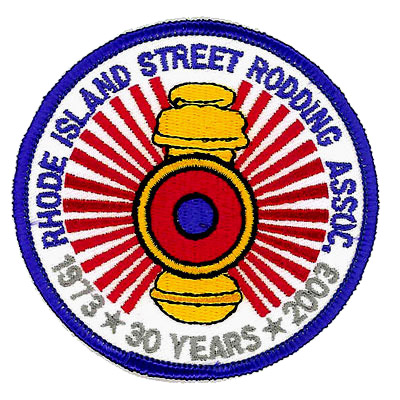 Rhode Island Street Rodding Association Patch