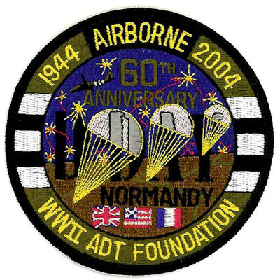 WWII ADT Foundation Patch