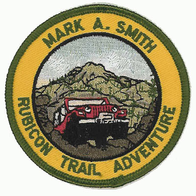 Mark A. Smith Rubicon Trail Adventure Patch
