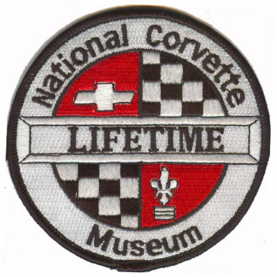 National Corvette Museum Patch