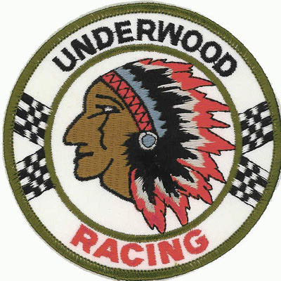 Underwood Racing Patch