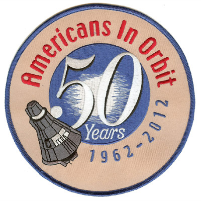 Americans In Orbit Patch