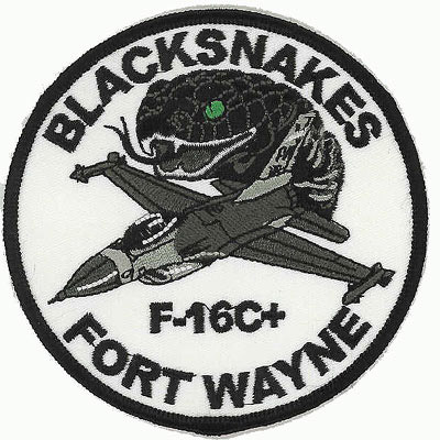 Blacksnakes F-16c Patch