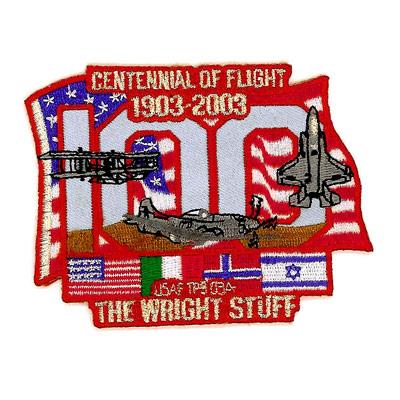 Centennial of Flight 1903-2003 Patch
