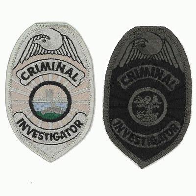 Criminal Investigator Patch