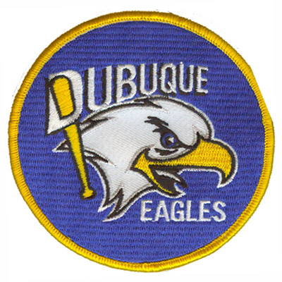Dubuque Eagles Baseball Patch