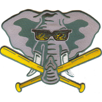 Elephant Baseball Patch