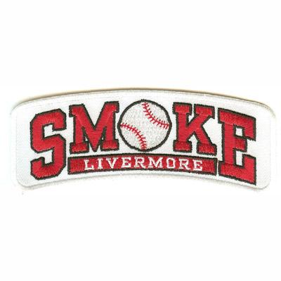 Livermore Smoke Baseball Patch