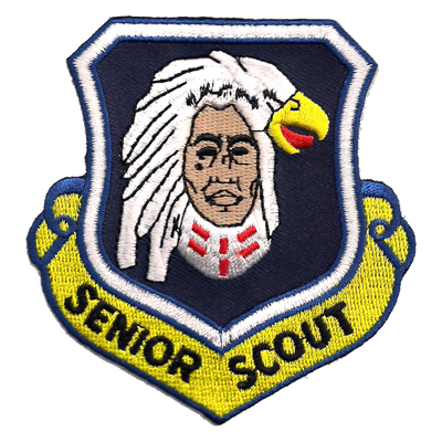 Embroidered Boy Service Troop Patches