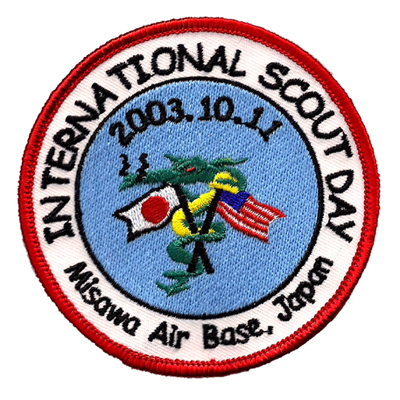 International Scout Day Patch