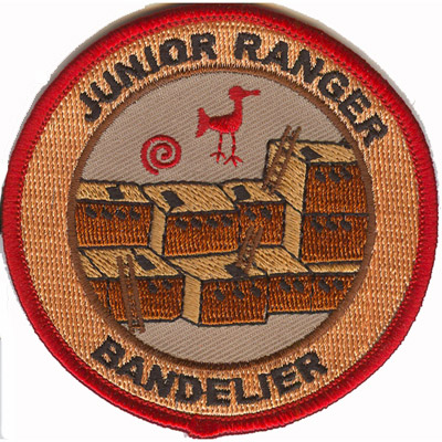 Junior Rangers Bandelier 2nd to 3rd Grade Patch
