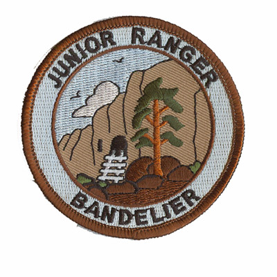Junior Rangers Bandelier 4th to 6th Grade Patch