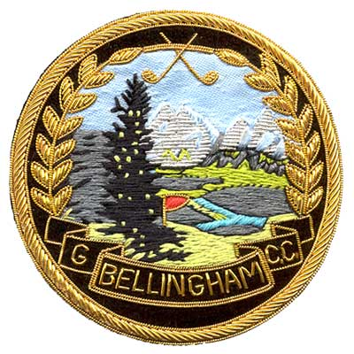 Bullion Crest Ceremonial Awards Patch