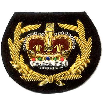 Bullion Emblem Fraternal Organization Patch