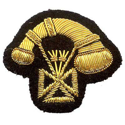 Bullion Emblem Private Club Patch