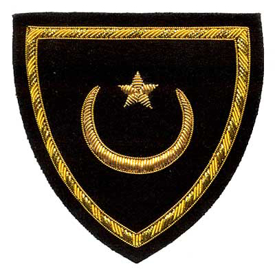 Bullion Shield Ceremonial Awards Patch