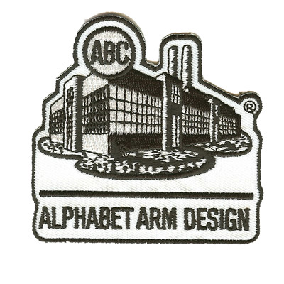 Alphabet Arm Design Patch