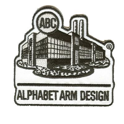 Alphabet Arm Design Patch