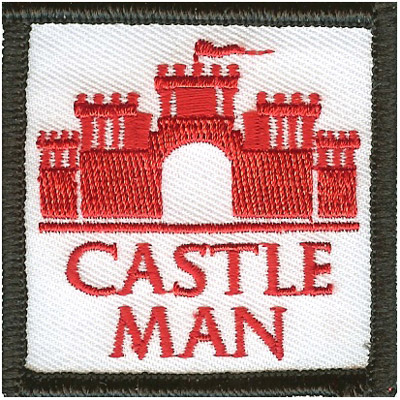 Castle Man Patch