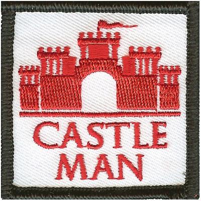 Castle Man Patch