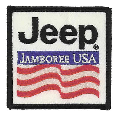 Jeep Jamboree USA Patch