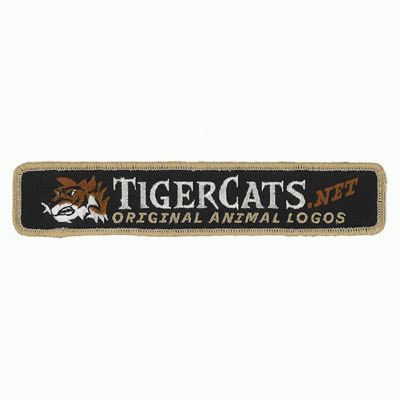 Tiger Cats Patch