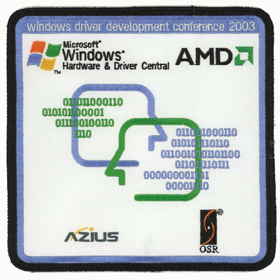 Windows Driver Development Conference 2003 Patch
