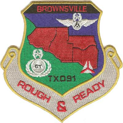 Brownsville Civil Air Patrol Patch