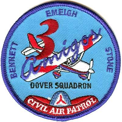 Civil air patrol cadet patch placement