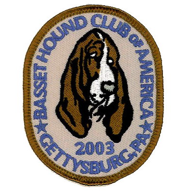 Basset Hound Club of America Patch