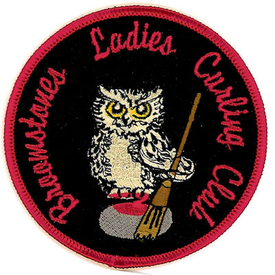 Broomstones Ladies Curling Club Patch