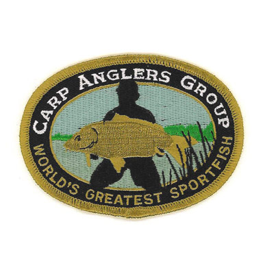 Carp Anglers Group Patch