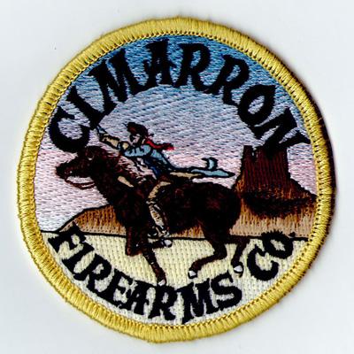 Cimarron Firearms Co Patch