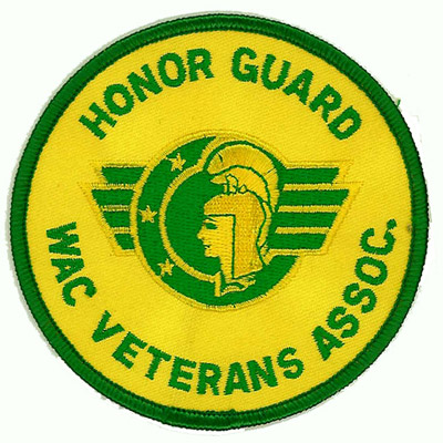 Honor Guard WAC Veterans Assoc Patch