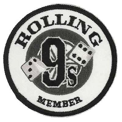 Rolling 9s Patch