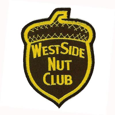 West Side Nut Club Patch