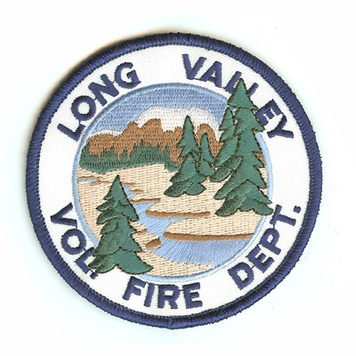 Long Valley Fire Department Patch