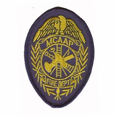 MCAAP Fire Department Patch