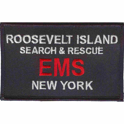 Roosevelt Island EMS Patch