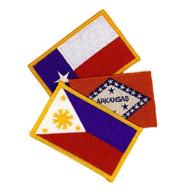 Three Arkansas Flag Patch