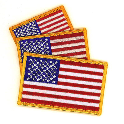 Embroidered Flag Patches