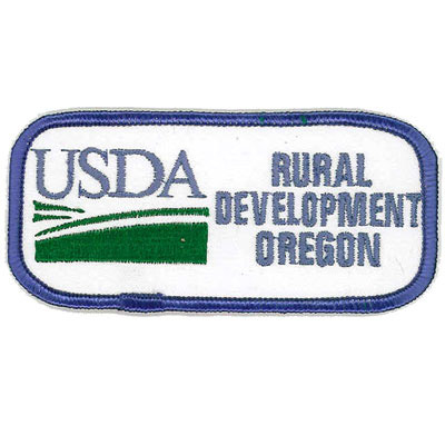 USDA Rural Development Oregon Patch
