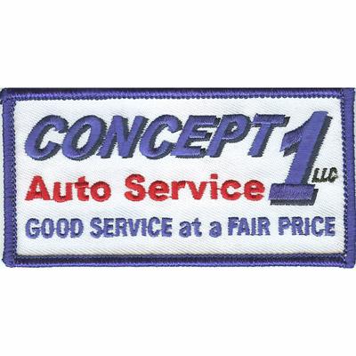 Concept 1 Auto Service Patch