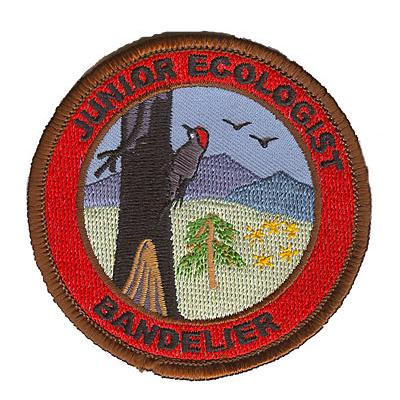 Brown and Red Junior Ranger Bandelier Patch