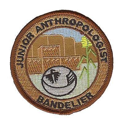 Brown and Tan Junior Ranger Bandelier Patch