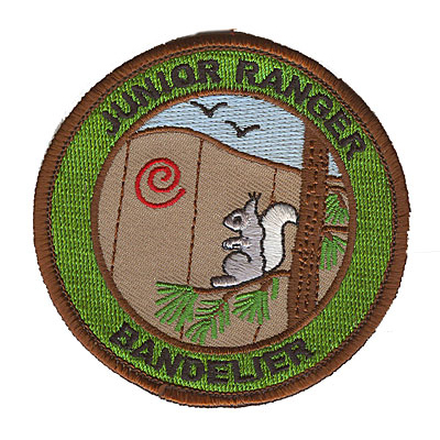 Brown and Green Junior Ranger Bandelier Patch