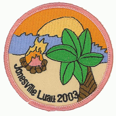 Jonesville Luau Patch